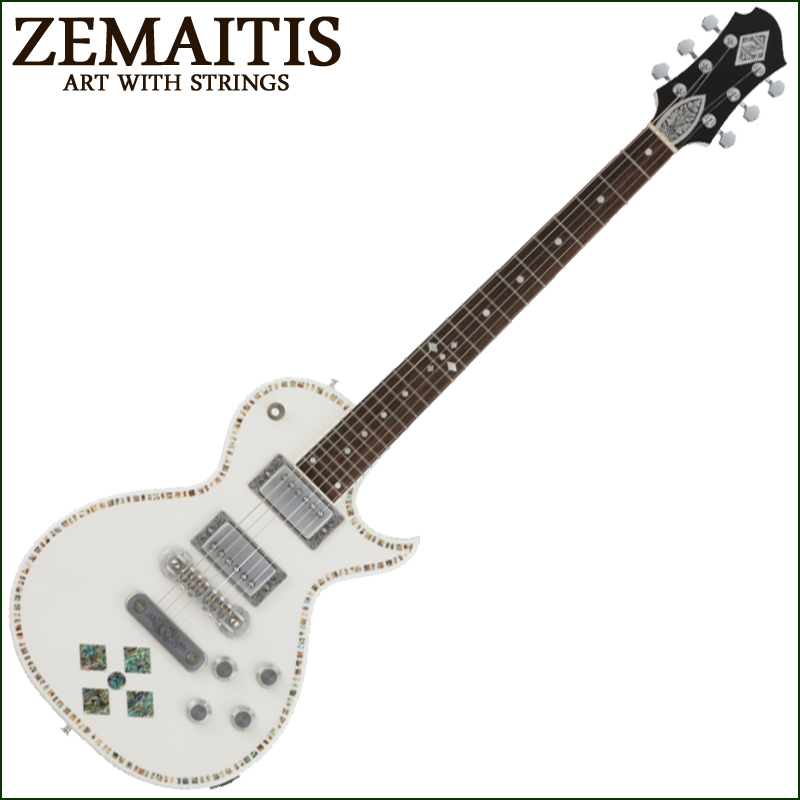Zemaitis A24SU WHITE PEARL DIAMOND【smtb-KD】:-p2