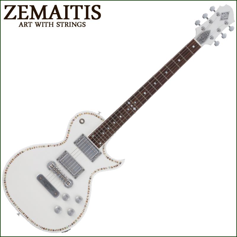 Zemaitis A24SU WHITE PEARL【smtb-KD】:-p2