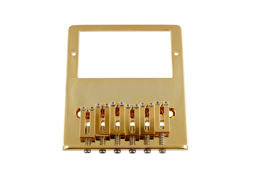 ALLPARTS TB-0031-002 Gold Gotoh Humbucking Bridge for Telecaster☆ALLPARTS 6020☆テレキャスター用ブリッジ【送料無料】【smtb-KD】