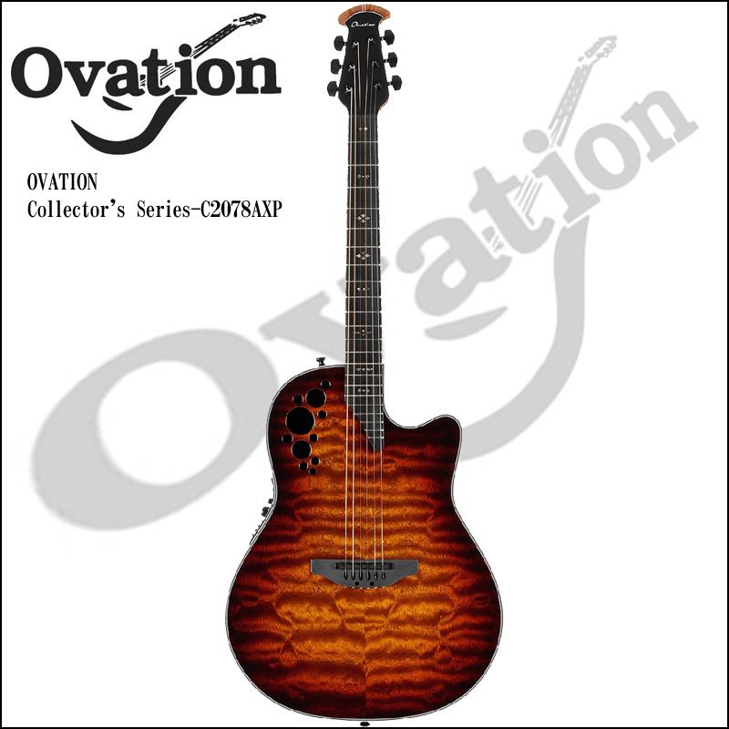 Ovation Collector's Series - C2078AXP STB【smtb-KD】:-p2