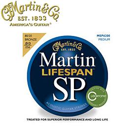 MARTIN(マーチン弦) 「MSP6200×9セット」ミディアム・ゲージ  SP Lifespan 80/20 Bronze Medium Gauge Acoustic/MSP-6200 【送料無料】【smtb-KD】:-as-p2