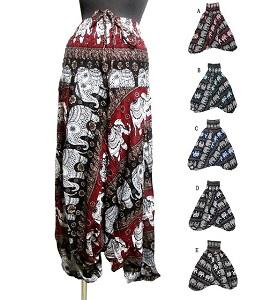 エスニックパンツ エスニックサルエルパンツ おトク 40%OFFの激安セール 2WEYサロペットエスニック衣料 エスニックアジアンファッション