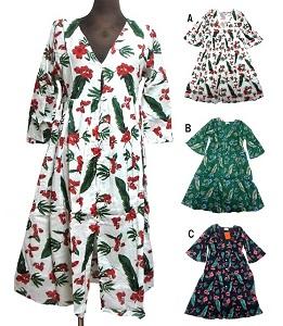 交換無料 新色 ボタンエスニックワンピース エスニック衣料 エスニックアジアンファッション