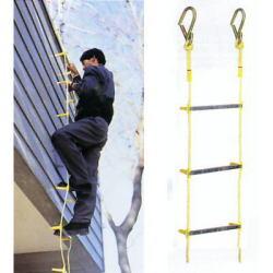 送料無料 避難用縄はしご 2階用 【避難はしご】