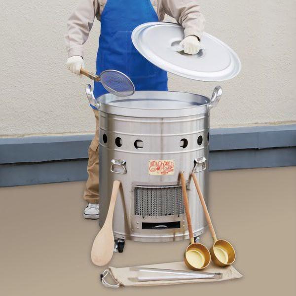 【送料無料】大型炊き出し器 まかないくん50型(かまど、料理、食事)メーカー直送の為代金引換はご利用できません。