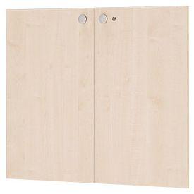 Garage fantoni 木製収納庫 GL-080TD 白木 下扉 代引き可 433740