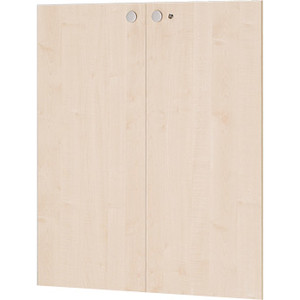 Garage fantoni 木製収納庫 120TD 白木 下扉 代引き可 433741