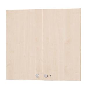 Garage fantoni 木製収納庫 080TU 白木 上扉 代引き可 433743