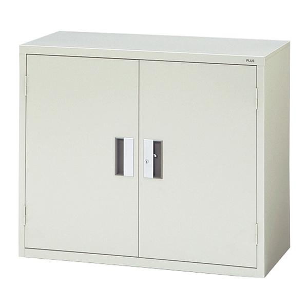 【書庫 】PLUS保管庫 A4対応 スチール書庫 上置き用 18404 PLUS SS-302A W880・D400・H730 (代引決済不可商品)