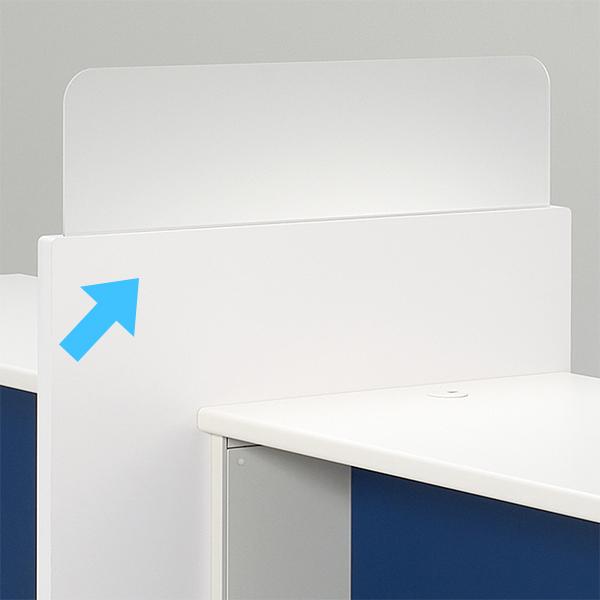 受付 カウンター スクリーンパネル PLUS DK 送料無料(代引決済不可商品)