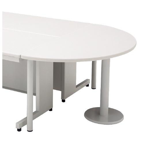 プラス LEED (決済商品) ホワイトデスク LEED プラス 半円形エンドテーブル LEED/LA (決済商品), ムーンハートのロール屋さん:74986850 --- novoinst.ro