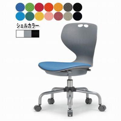 会議用 チェア イス キャスター付き 事務椅子 布座面 New MC-445W/G/B 3台以上で更に↓ (代引決済不可商品)