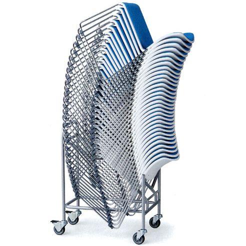 スタッキングチェア用台車 オフィス家具 aico D-16 椅子台車 (代引決済不可商品)