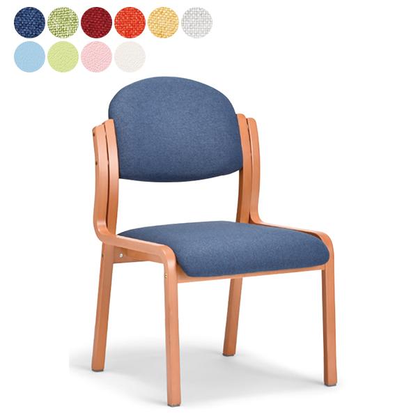NEW 介護用椅子 丸背タイプ 肘なしタイプ 布張り/ビニールレザー 福祉用椅子 木製チェア 送料無料 3脚以上さらに↓ MW-321(代引決済不可商品)