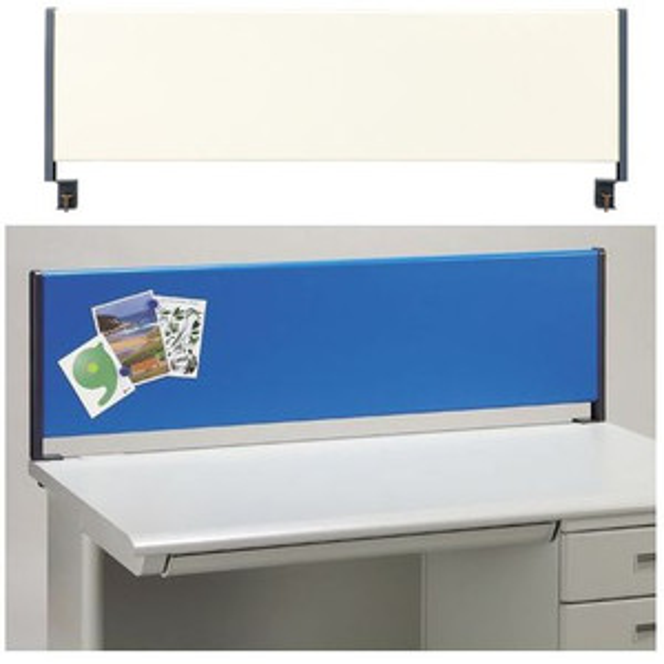 スチールタイプ デスクトップパネル 1400 YSP-S140 ブルーとアイボリーの2色 RJ/JS/20L/B-Foret (代引決済不可商品)