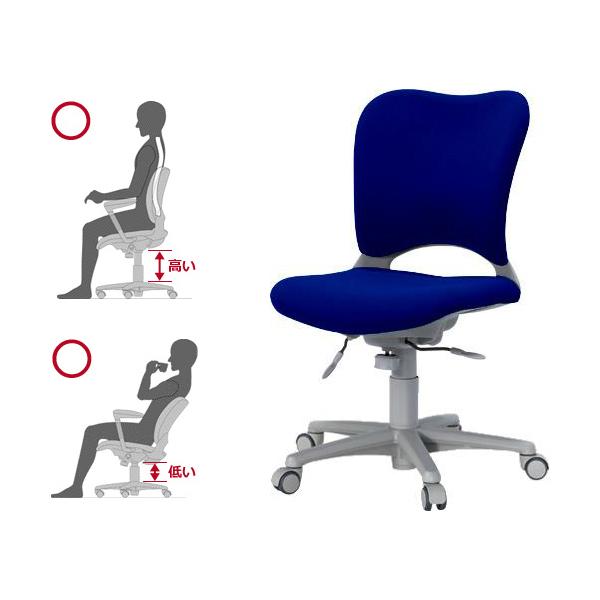 オーバル チェア 腰痛対策 ビジネスチェア 事務椅子 パソコンチェア オーバル チェア 日本製 410271