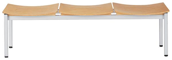 受注生産品 ロビーチェア 3人掛け ヌードタイプ ロビー エントランス ラウンジチェア LC-193B 送料無料(代引決済不可商品)