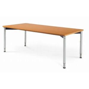 ○AICO 天板昇降タイプの人に優しいミーティング・リフレッシュテーブル W1800×D900 HLT-1890 (代引決済不可商品)