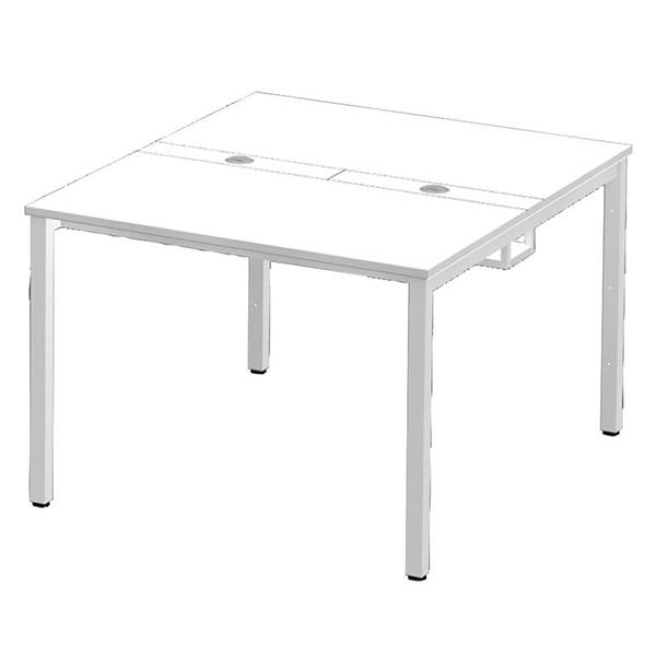 Garage セパレート天板のセットテーブルW100×D1200mm OAミーティングテーブルMP-1012SS 415614