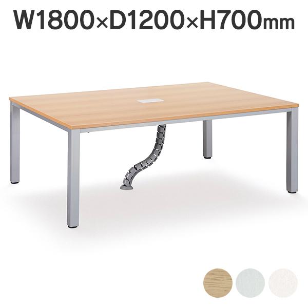 OAテーブル フリーアドレステーブル ミーティンテーブル 耐荷重100KG 角型 FAD-1812 幅1800×奥行き1200mm (代引決済不可商品)