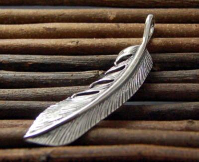 Silver925バナナフェザーペンダント[シルバーアクセサリー]