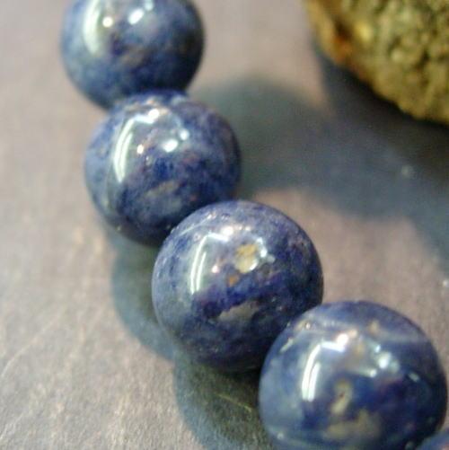 提高聪明的蓝宝石8mm手镯[功率斯通、念珠呼吸]