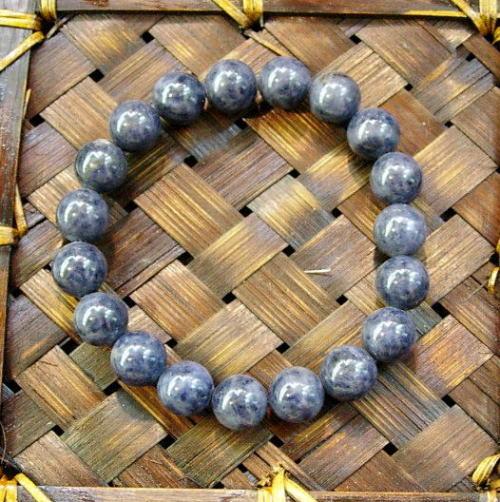 サファイア 10mm ブレスレット【送料無料】知性を増す[パワーストーン・数珠ブレス]サファイヤ