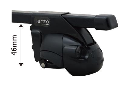 TERZO ベースキャリア  ジムニーJB23 ルーフレール有り用
