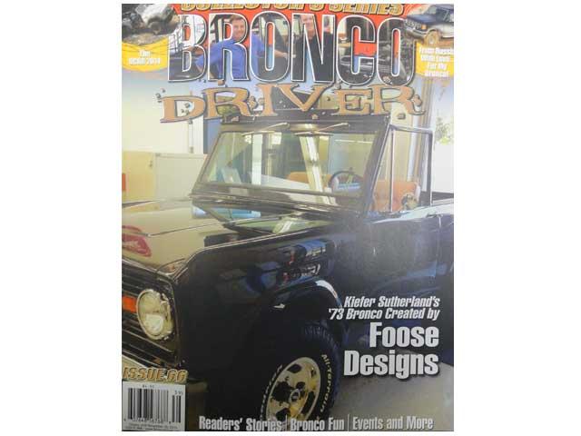BRONCO DRIVER magazine #66 ブロンコ 出荷 メーカー公式 ドライバー