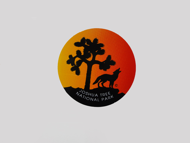 JOSHUA TREE 贈り物 格安 価格でご提供いたします NATIONAL PARK STICKER ステッカー ツリー国立公園 ジョシュア シール
