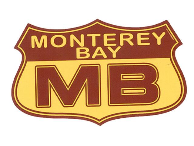 MONTEREY BAY 国際ブランド MB SEAL 営業 シール ステッカー モントレー STICKER