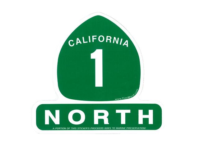 CALIFORNIA 1 NORTH SEAL 超安い シール ステッカー 直営店 STICKER カリフォルニア