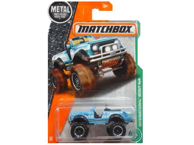 MATCHBOX METAL INTERNATIONAL 業界No.1 SCOUT 4×4 ミニカー スカウト 返品不可 マッチボックス インターナショナル