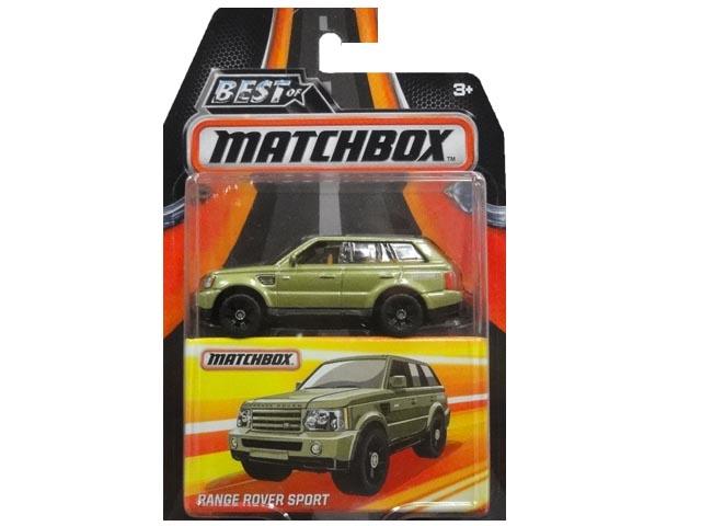 定価 バーゲンセール MATCHBOX RANGE ROVER マッチボックス SPORT ミニカー