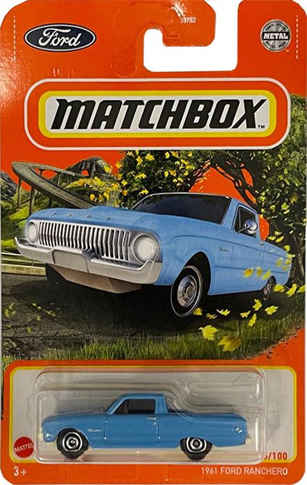 MATCHBOX METAL 1961 送料無料新品 FORD RANCHERO マッチボックス ミニカー セール商品