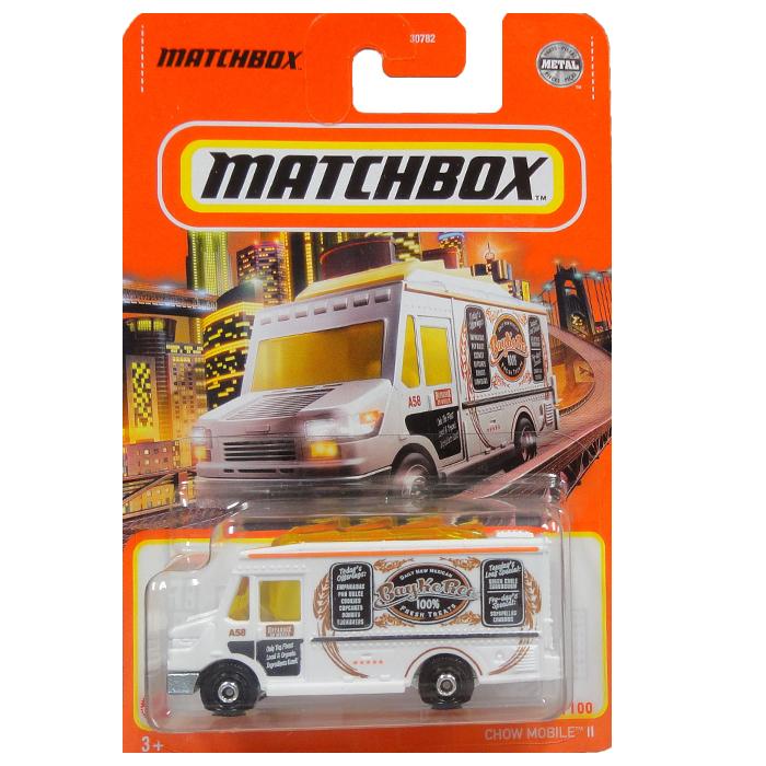 MATCHBOX METAL 売店 再再販 CHOW MOBILE 2 ミニカー マッチボックス