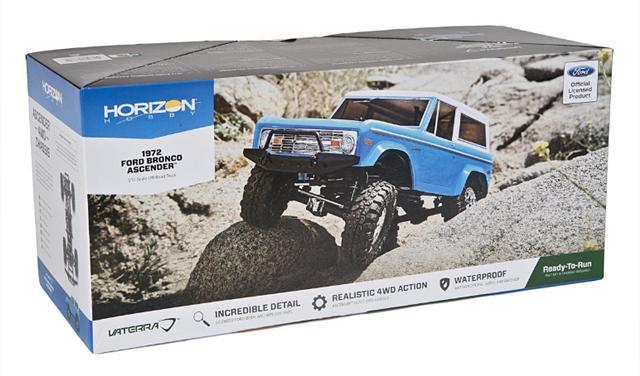 Vaterra Ascender 1972 Ford Bronco RTR Rock Crawler