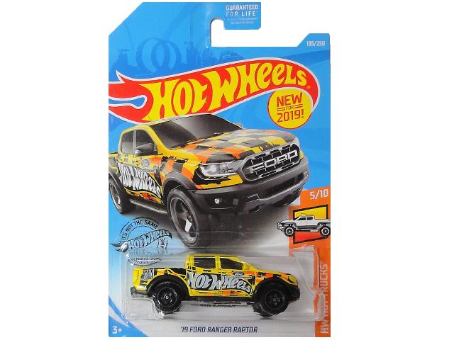 HotWHeeLs HW HOT TRUCKS 19 人気商品 ミニカー RANGER 安値 ホットウィールズ RAPTOR FORD