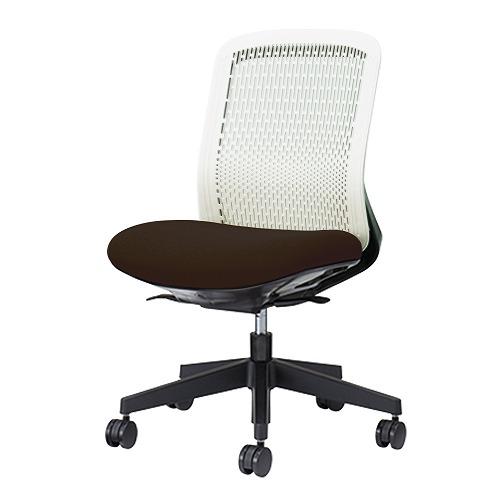 PLUS プラス Try トライ パソコンチェア PCチェア オフィスチェア ワークチェア ビジネスチェア メッシュチェア メッシュチェアー フィット メッシュ フィット 放熱 チェア チェアー 椅子 いす イス ローバック 肘なし ブラック 黒 KC-TR50SEL