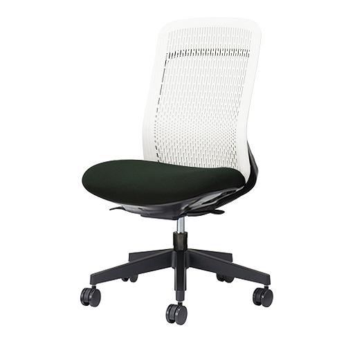PLUS プラス Try トライ パソコンチェア PCチェア オフィスチェア ワークチェア ビジネスチェア メッシュチェア メッシュチェアー フィット メッシュ フィット 放熱 チェア チェアー 椅子 いす イス ハイバック 肘なし ブラック 黒 KC-TR51SEL