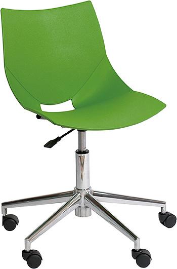 コスカスウィーベル X ワークチェア ワークチェアー オフィスチェア オフィスチェアー デザイナーチェア デザイナーチェアー キャスター付き 回転脚タイプ 回転脚 チェア チェアー インテリア おしゃれ オシャレ 書斎 作業部屋 いす 椅子 グリーン 緑