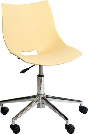 コスカスウィーベル X ワークチェア ワークチェアー オフィスチェア オフィスチェアー デザイナーチェア デザイナーチェアー キャスター付き 回転脚タイプ 回転脚 チェア チェアー インテリア おしゃれ オシャレ 書斎 作業部屋 いす 椅子 ベージュ