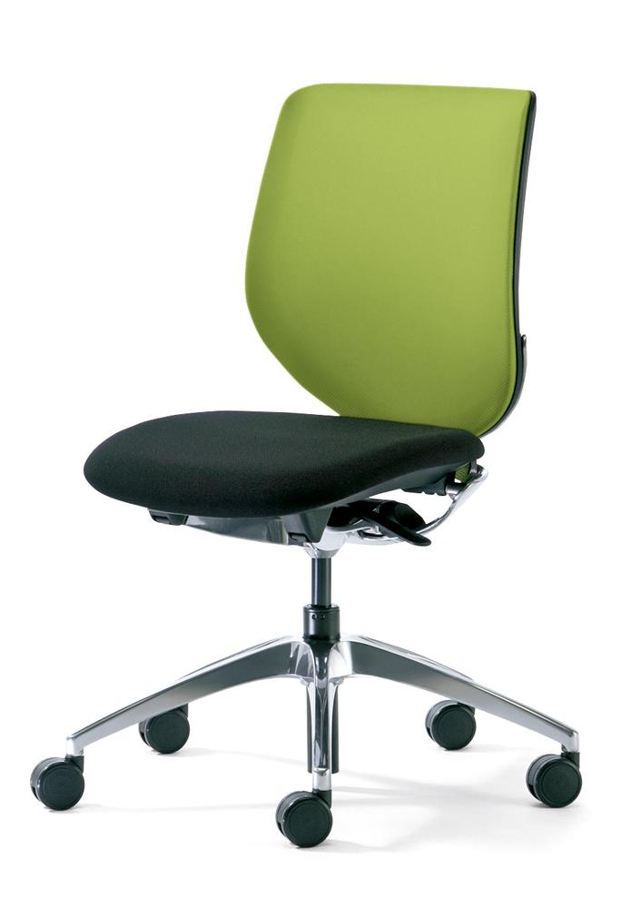 giroflex ジロフレックス 313 パソコンチェア PCチェア ワークチェア 仕事用チェア デスクチェア 事務椅子 事務チェア 学習チェア デスクワーク 疲れにくい 長時間 チェア チェアー 椅子 メッシュ メッシュチェア 肘なし イエローグリーン 313-4039RPS