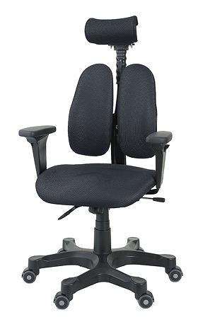 DUOREST デュオレスト DRシリーズ パソコンチェア PCチェア オフィスチェア 学習チェア 学習椅子 ゲーミングチェア トレーダー 株 チェア 椅子 イス いす 背もたれ デスクワーク 長時間 疲れにくい 腰 背筋 サポート グレー 灰色 DR-7501SP TBK