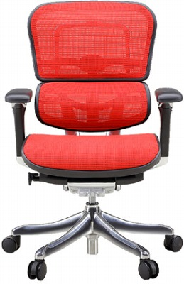 エルゴヒューマン プロ ローバック ハイブリット機能 パソコンチェア PCチェア ゲーミングチェア ゲーム 株 オフィスチェア 学習椅子 学習チェア 仕事用チェア 事務いす 事務椅子 チェア 椅子 イス 高級感 かっこいい 赤 レッド EHP-LAM-HB KMD32