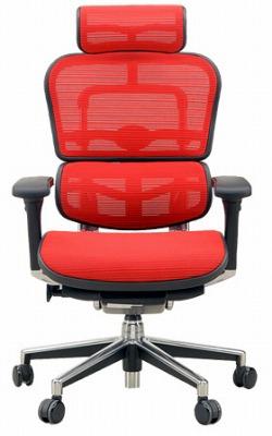 エルゴヒューマン ハイバック ハイブリット機能 パソコンチェア PCチェア ゲーミングチェア ゲーム 株 オフィスチェア 学習椅子 学習チェア 仕事用チェア 事務いす 事務椅子 チェア 椅子 イス 高級感 かっこいい 赤 レッド EH-HAM-HB KMD32