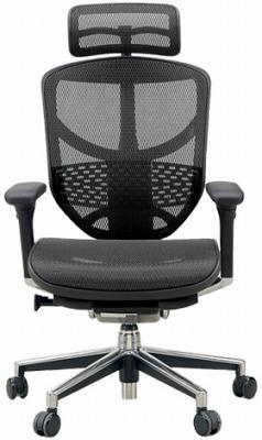 エルゴヒューマン エンジョイ ハイバック ハイブリット機能 パソコンチェア PCチェア ゲーミングチェア ゲーム 株 オフィスチェア 学習椅子 学習チェア 仕事用 事務いす 事務椅子 チェア 椅子 イス 高級感 かっこいい 黒 ブラック EJ-HAM-HB KM11