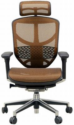エルゴヒューマン エンジョイ ハイバック ハイブリット機能 パソコンチェア PCチェア ゲーミングチェア ゲーム 株 オフィスチェア 学習椅子 学習チェア 仕事用 事務いす 事務椅子 チェア 椅子 イス 高級感 かっこいい 橙 オレンジ EJ-HAM-HB KM13