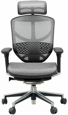 エルゴヒューマン エンジョイ ハイバック ハイブリット機能 パソコンチェア PCチェア ゲーミングチェア ゲーム 株 オフィスチェア 学習椅子 学習チェア 仕事用 事務いす 事務椅子 チェア 椅子 イス 高級感 かっこいい 白 ホワイト EJ-HAM-HB KM16