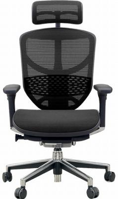 エルゴヒューマン エンジョイ ハイバック ハイブリット機能 パソコンチェア PCチェア ゲーミングチェア ゲーム 株 オフィスチェア 学習椅子 学習チェア 仕事用チェア 事務いす 事務椅子 チェア イス 高級感 かっこいい 黒 ブラック EJ-HAM-HB KMD31